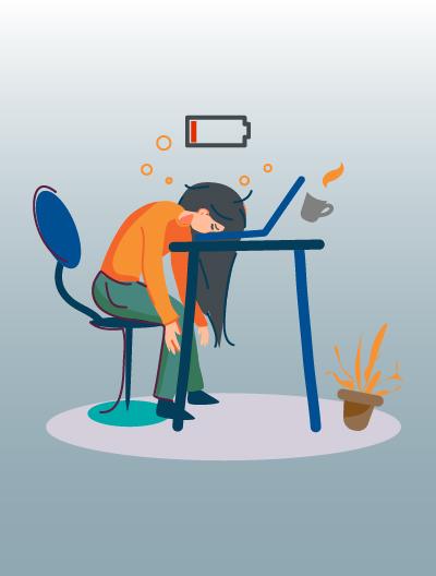 6 علامات تدل على أنّك ترهق نفسك في العمل