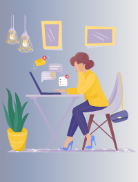 التأثيرات الإيجابية للعمل من المنزل