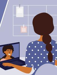 5 نصائح مهمة لاتباعها في المقابلات الافتراضية